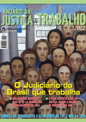 Anuário da Justiça do Trabalho 2012 -Ed