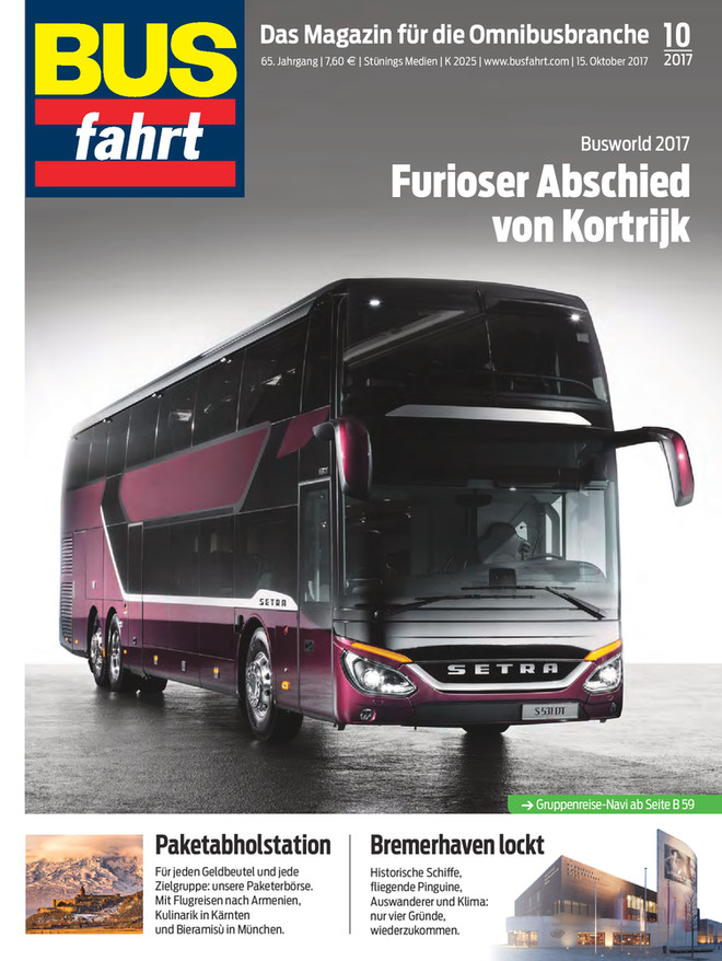 Bus-Fahrt 10/2017