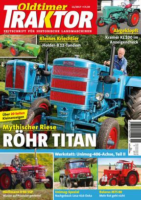 Oldtimer Traktor 11/2017