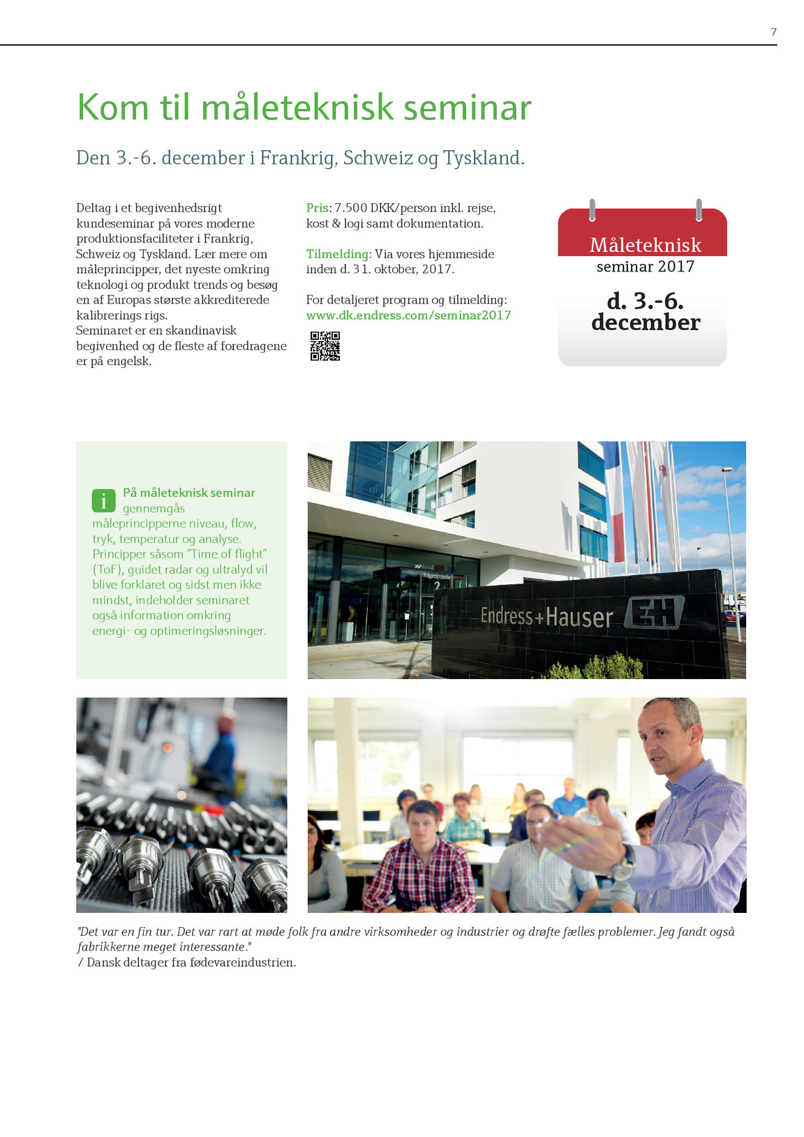 fanfare 2017-2 | Endress+Hauser AG Kiosk