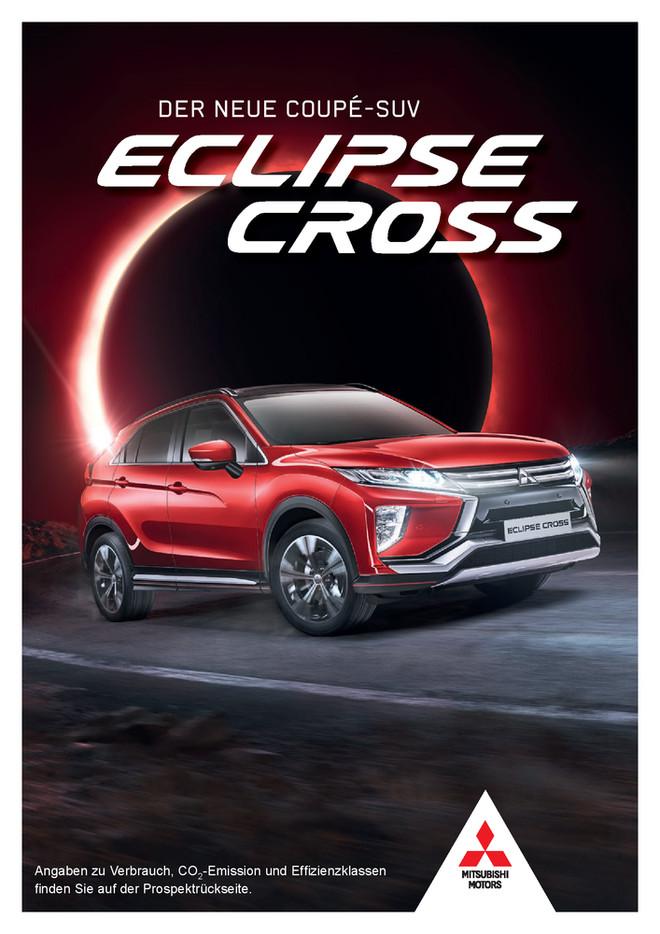 Eclipse Cross Vorabprospekt 09/2017