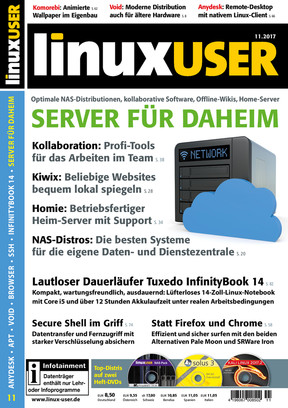 Linux User 11/2017