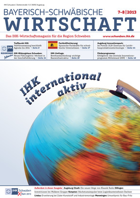 Bayerisch-Schwäbische Wirtschaft  8 - 7/ 2013