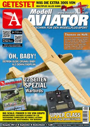 Modell AVIATOR Ausgabe 09/2013