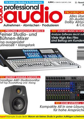 Professional audio 11/2017