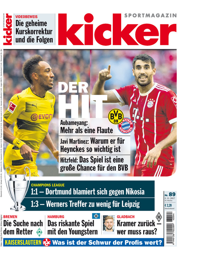 kicker 89/2017