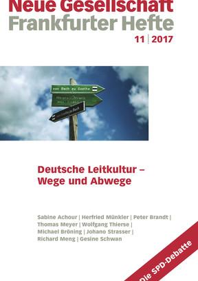 11 | 2017 – Deutsche Leitkultur – Wege und Abwege