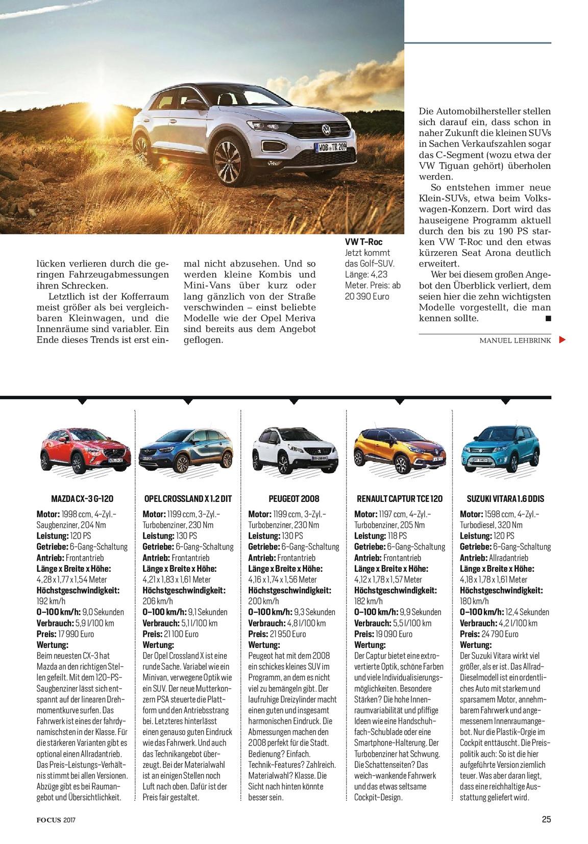 Gratis Suv Special Focus Magazin