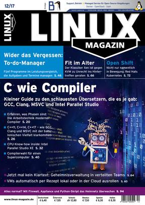 Linux-Magazin 12/2017 Linux Magazin