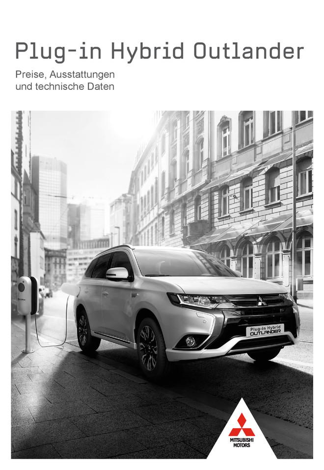 Plug-in Hybrid Outlander Preis- /Datenblatt 10/2017