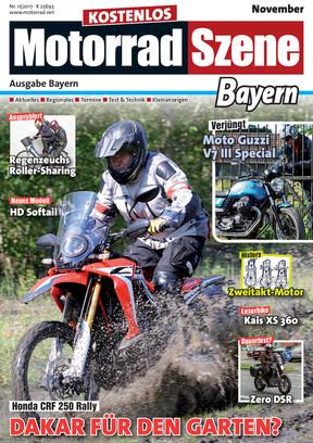 MotorradSzene Bayern 11/17