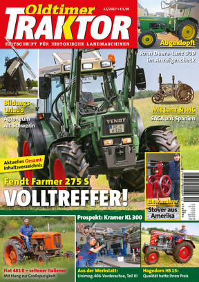 Oldtimer Traktor 12/2017