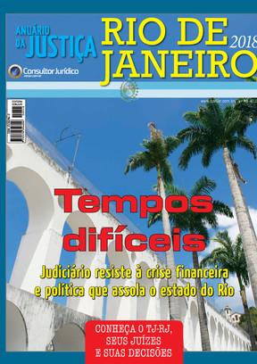 Anuário da Justiça Rio de Janeiro 2018