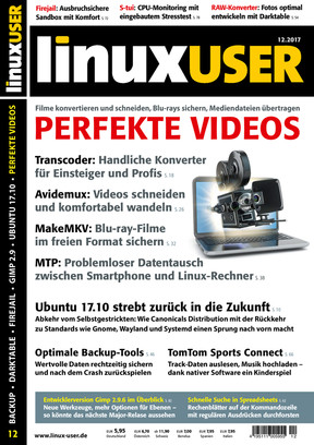 Linux User 12/2017