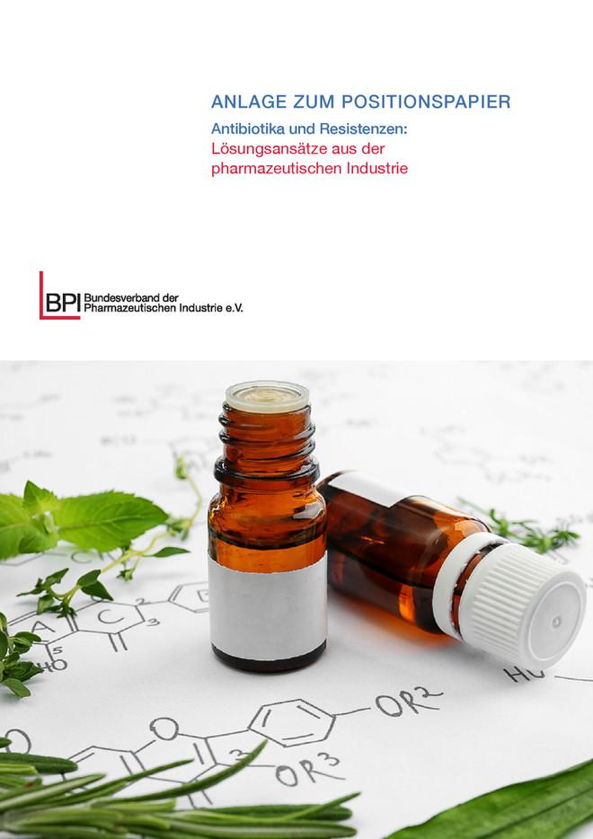 Anlage zum BPI-Positionspapier Antibiotika und Resistenzen