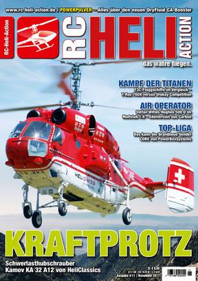 RC-Heli-Action Ausgabe 11/2017
