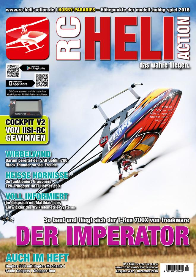 RC-Heli-Action Ausgabe 12/2016