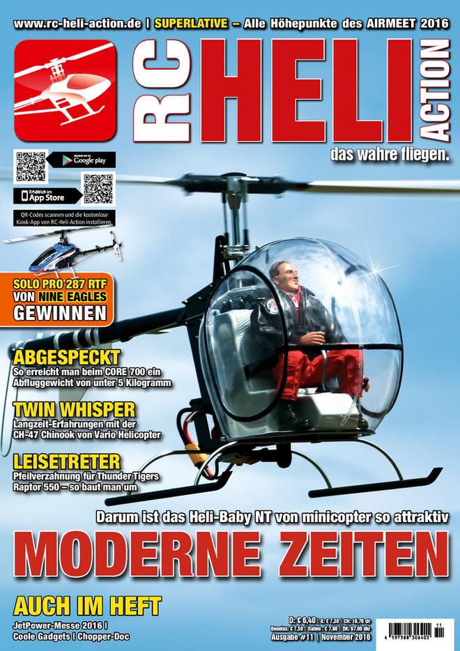 RC-Heli-Action Ausgabe 11/2016