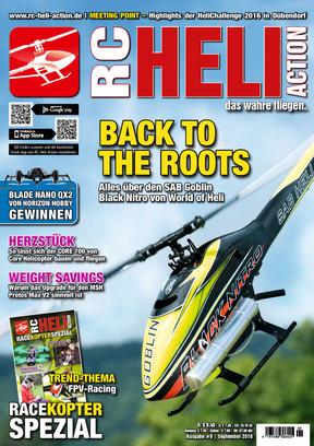 RC-Heli-Action Ausgabe 09/2016