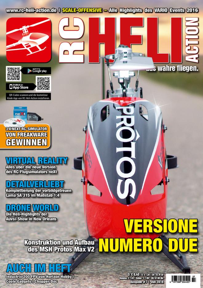 RC-Heli-Action Ausgabe 07/2016