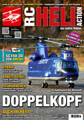 RC-Heli-Action Ausgabe 01/2016