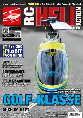 RC-Heli-Action Ausgabe 11/2015