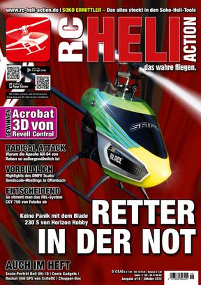 RC-Heli-Action Ausgabe 10/2015