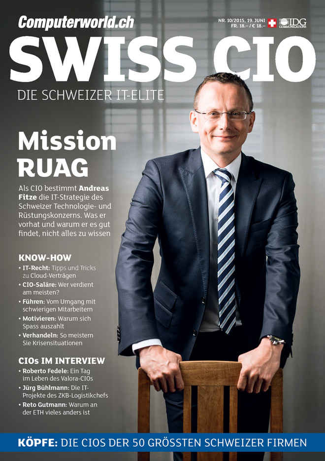 Computerworld 10_2015_Swiss CIO