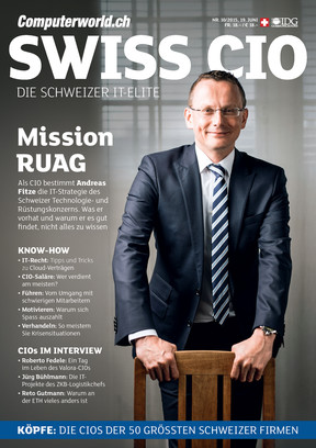 Computerworld 10_2015_Swiss CIO