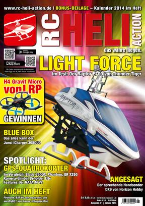 RC-Heli-Action Ausgabe 01/2014