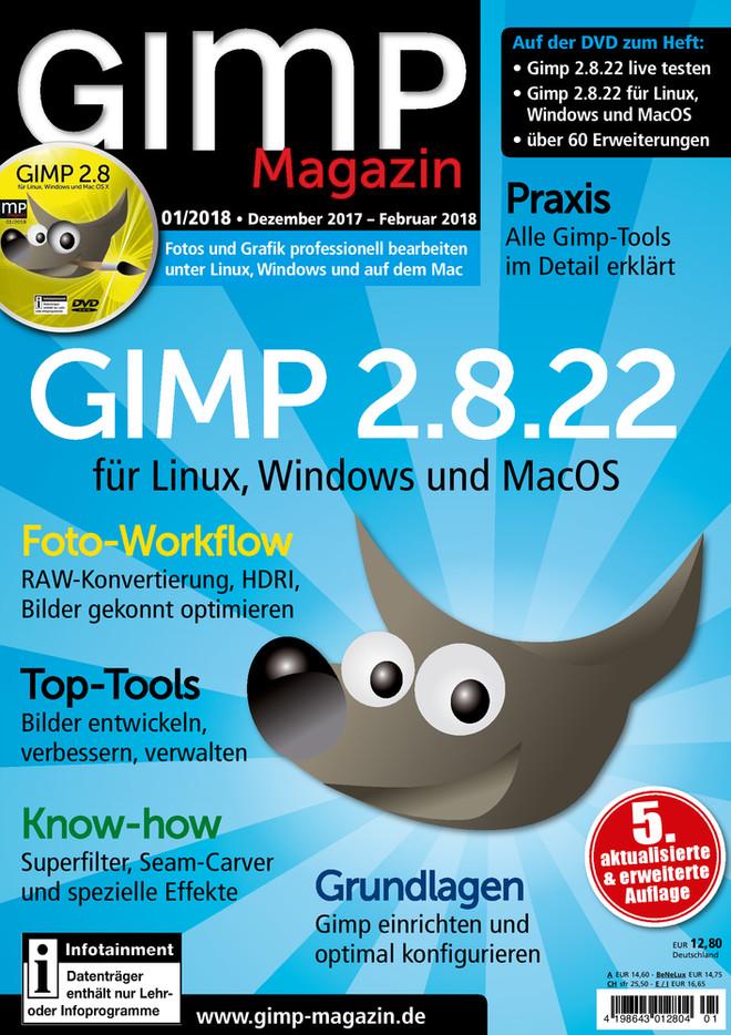 GIMP Magazin 01/2018