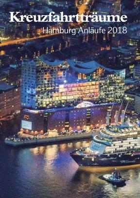 Kreuzfahrtträume Hamburg Anläufe 2018