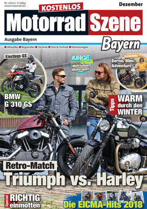 MotorradSzene Bayern 12/17
