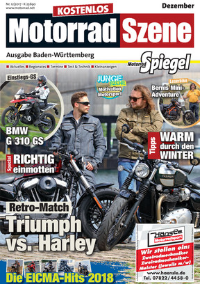 MotorradSzene Spiegel 12/17