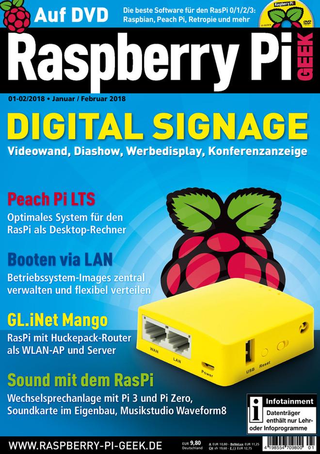 Raspberry Pi Geek 01-02/2018 Raspberry Pi Geek