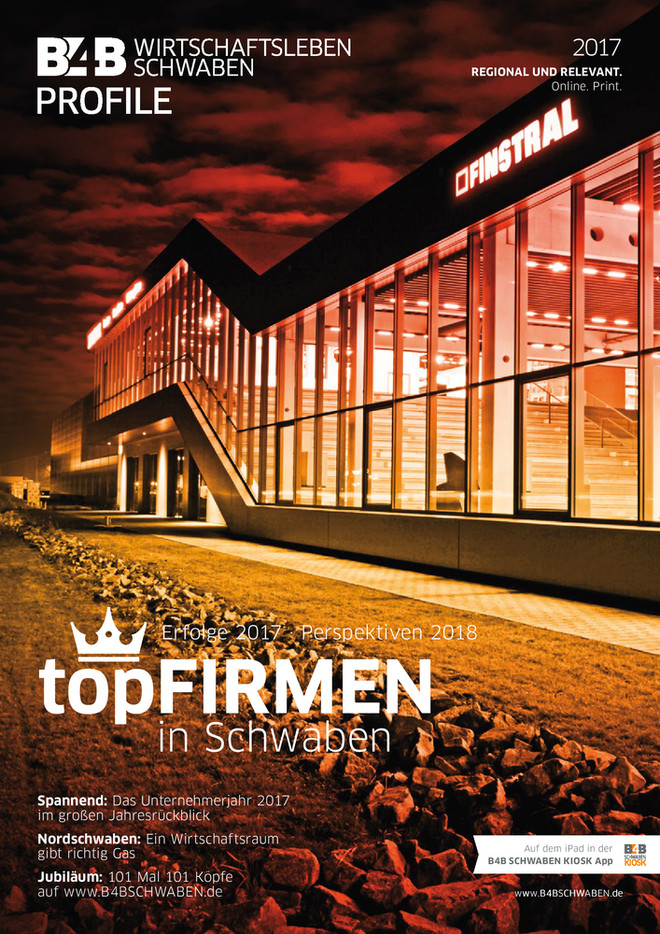 topFIRMEN in Schwaben 2017