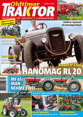 Oldtimer Traktor 1/2018