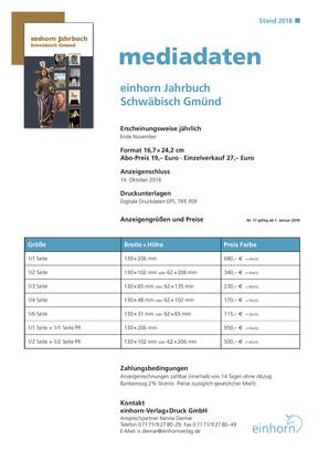 Mediadaten Jahrbuch 2018