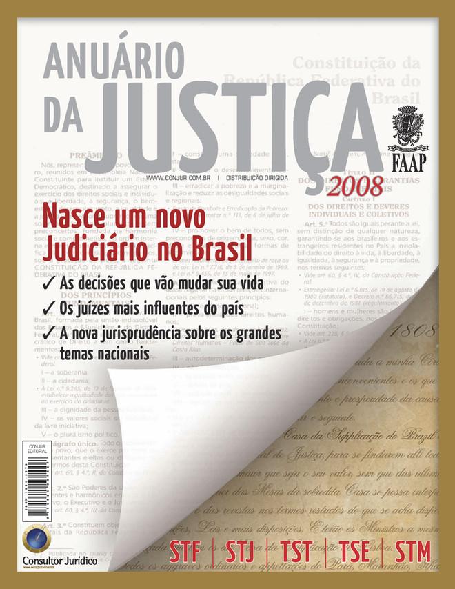 Anuário da Justiça Brasil 2008