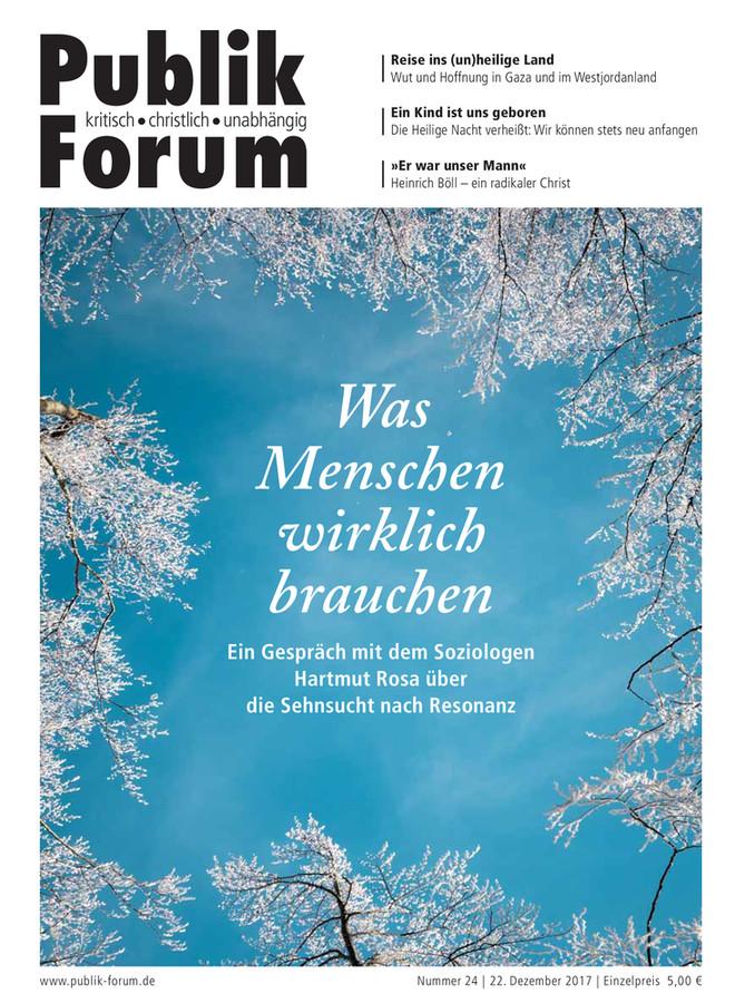 Publik-Forum, 24/2017