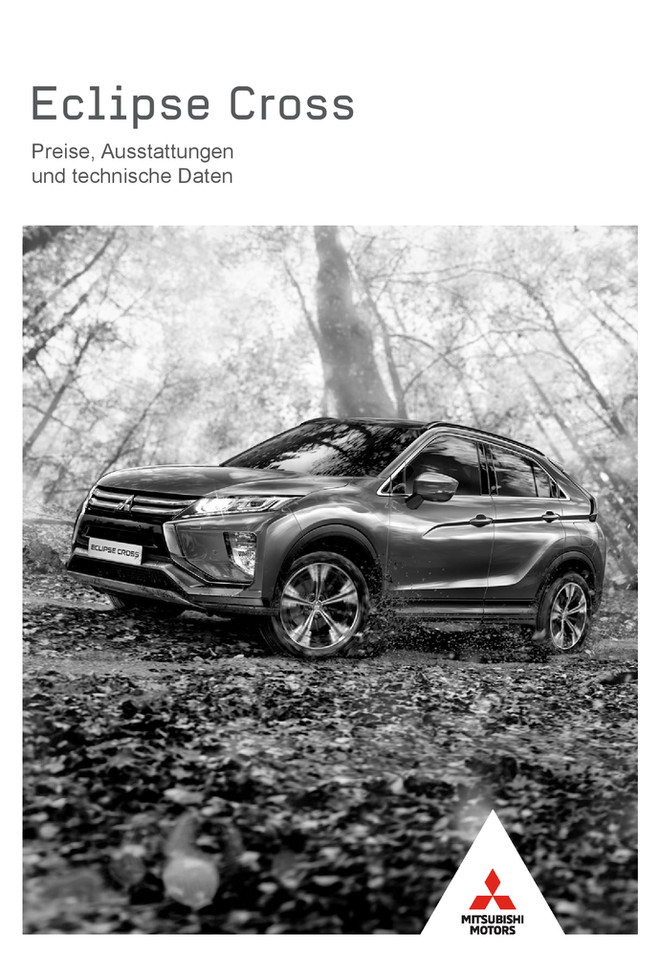 Eclipse Cross Preis-/Datenblatt 01/2018