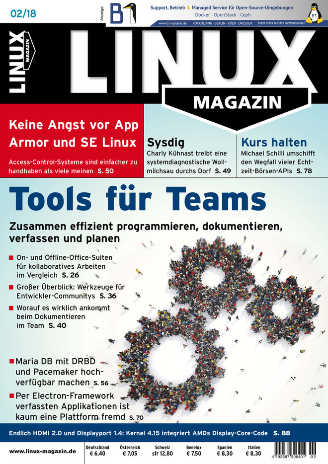 Linux-Magazin 02/2018 Linux Magazin