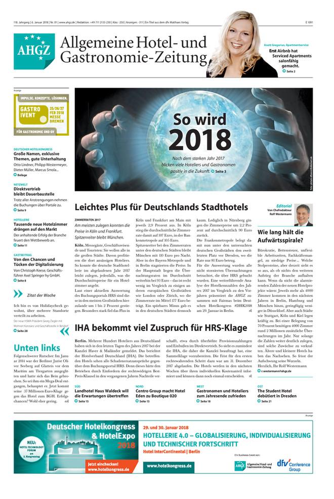 Ausgabe 1 / 2018