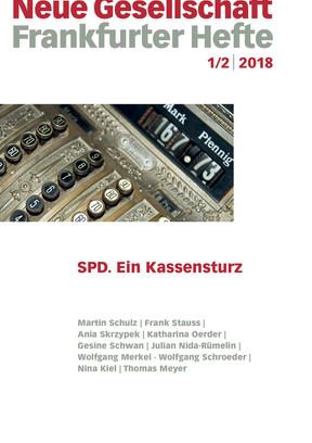 1/2 | 2018 – SPD. Ein Kassensturz