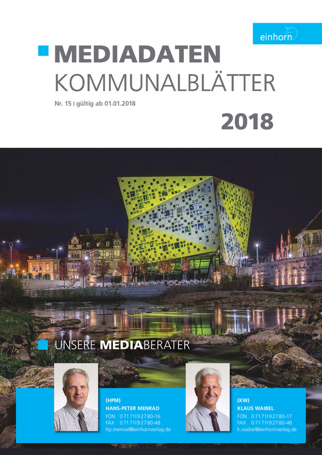 Mediadaten Amts & Mitteilungsblätter 2018