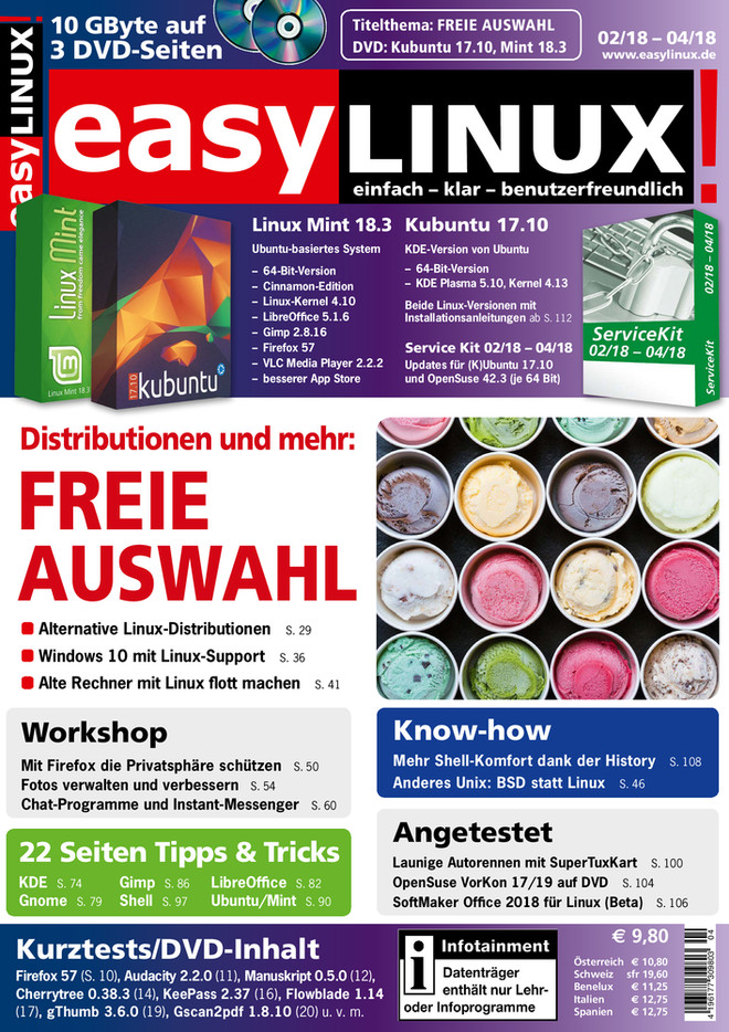 Easy Linux 02/18-04/18