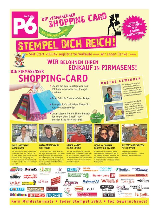 Oktober 2017 - Pirmasenser Shopping Card