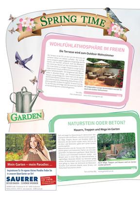 April 2017 - Springtime Garden & Style