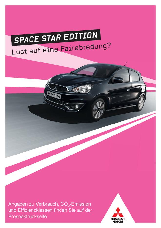 Space Star Edition Sondermodellprospekt 02/2018