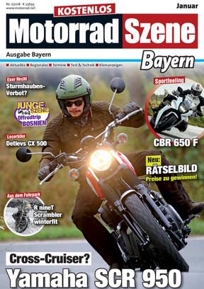 MotorradSzene Bayern 01/18